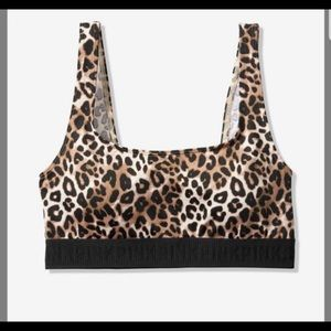 Victoria's Secret PINK cheetah sports bra (med)